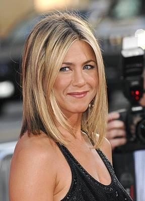 Jennifer Aniston At Arrivals Poster by Everett