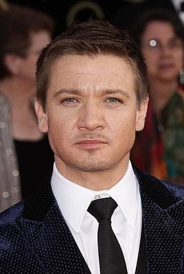 Jeremy Renner At Arrivals For 16th Poster by Everett