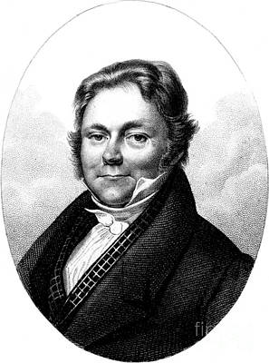 J�ns Jacob Berzelius, Father Of Swedish Poster by Science Source