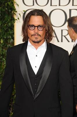 Johnny Depp At Arrivals For The Poster