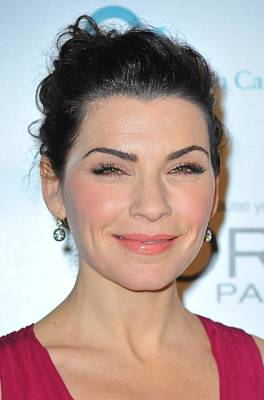 Julianna Margulies At Arrivals Poster