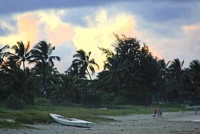 Kailua Beach Sunset Poster