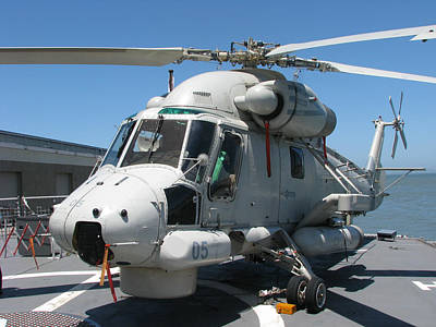Poster featuring the photograph Kaman Sh-2g Sea Sprite by Samuel Sheats