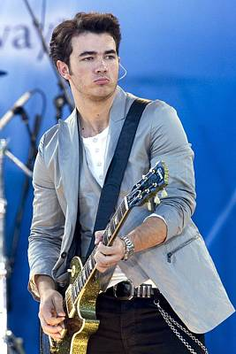 Kevin Jonas At Talk Show Appearance Poster