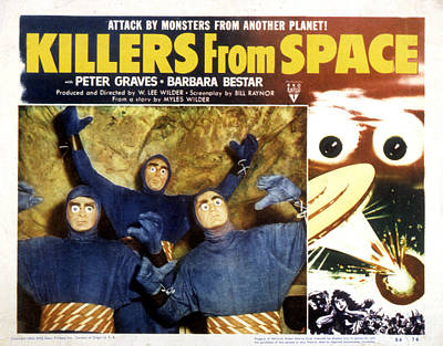 Killers From Space, 1954 Poster by Everett