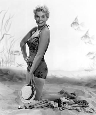 Kim Novak, Columbia Pictures, 1956 Poster