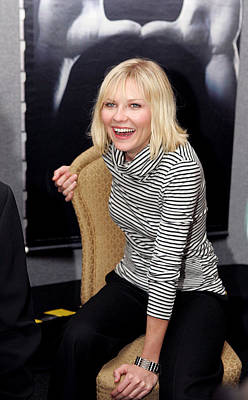 Kirsten Dunst At The Press Conference Poster