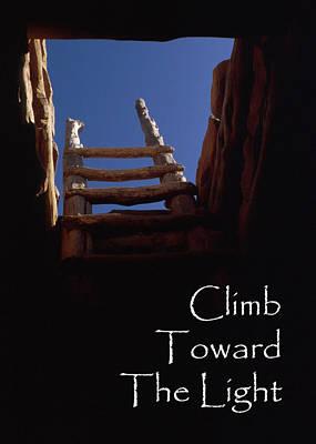 Kiva Climb Poster by Jerry McElroy