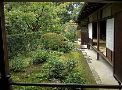 Koto-in Zen Temple Side Garden - Kyoto Japan Poster