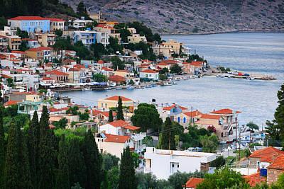 Lagada. Chios Greece  Poster by Emmanuel Panagiotakis