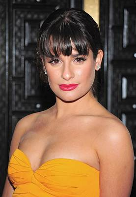 Lea Michele At Arrivals For American Poster by Everett