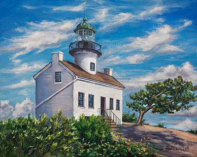 Lighthouse Poster by Lisa Reinhardt