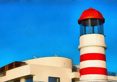 Lighthouse Poster by Odon Czintos