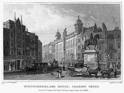 London: Charing Cross, 1830 Poster by Granger