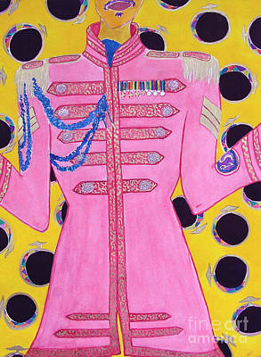 Lonely Hearts Club Member Ringo Poster by Barbara Nolan