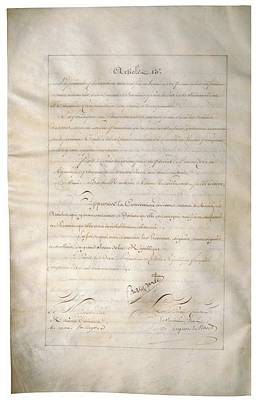 Louisiana Purchase Treaty Of 1803 Poster by Everett