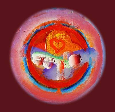 Love Heart Poster by Charles Stuart