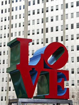 Love Park - Center City - Philadelphia Poster