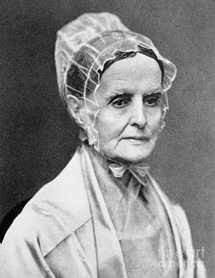 Lucretia Coffin Mott Poster by Granger