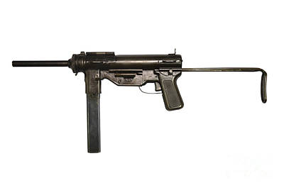 M3 Submachine Gun, 45 Caliber Poster
