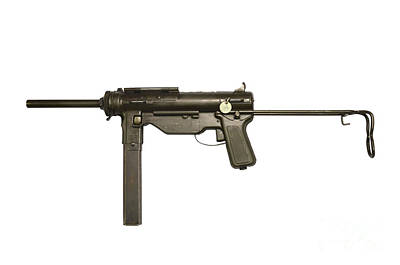 M3a1 Submachine Gun, 45 Caliber Poster