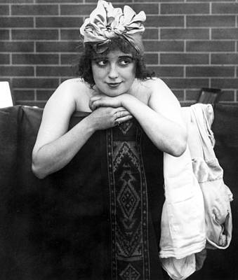 Mabel Normand, Ca. 1910s Poster by Everett