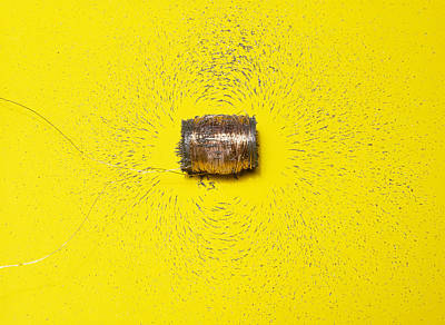 Magnetic Field Of A Solenoid Poster