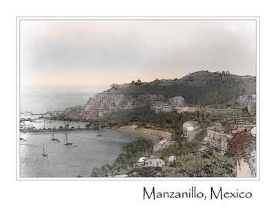 Manzanillo Mexico Poster