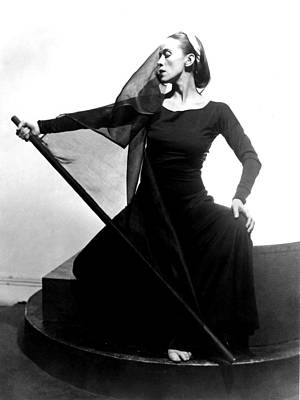 Martha Graham In Her Tragic Holiday Poster by Everett