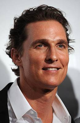 Matthew Mcconaughey At Arrivals Poster