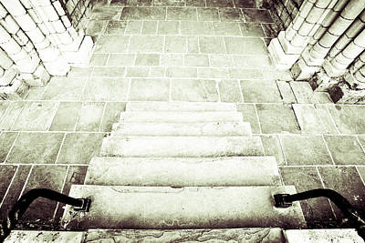 Medieval Staircase Poster
