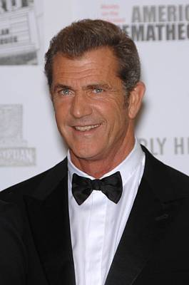 Mel Gibson In Attendance For 25th Poster by Everett
