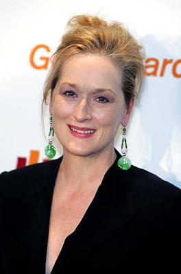 Meryl Streep At Arrivals Poster by Everett