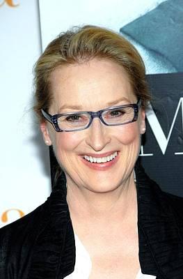 Meryl Streep  At Arrivals For Julie & Poster by Everett