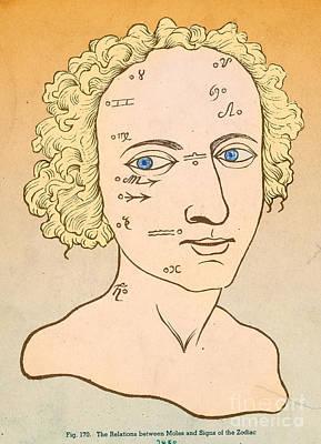 Metoposcopy, 17th Century Poster
