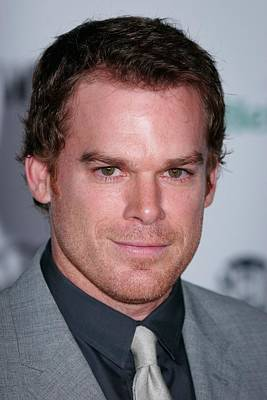 Michael C. Hall At Arrivals Poster by Everett