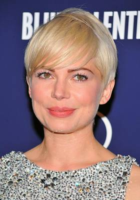 Michelle Williams At Arrivals For Blue Poster