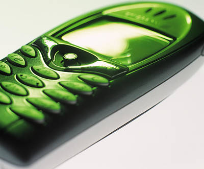 Mobile Phone Poster by Tek Image