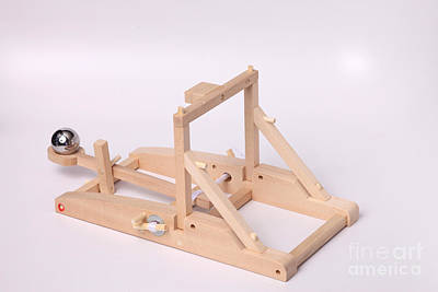 Model Catapult Poster by Ted Kinsman