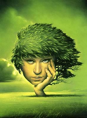 Mother Nature, Conceptual Artwork Poster by Smetek