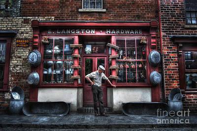 Mr Langston's Hardware Shop Poster by Yhun Suarez