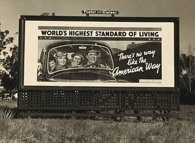 National Association Of Manufacturers Poster