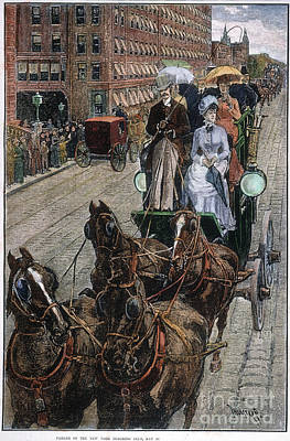 New York Coaching Club, 1885 Poster by Granger