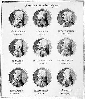 New York Legislature, 1798 Poster