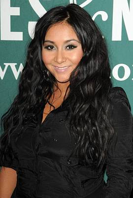 Nicole Snooki Polizzi At In-store Poster by Everett