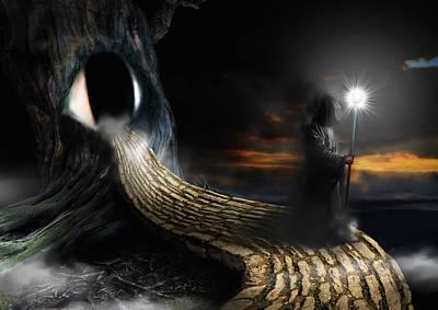Night Guard Poster by Mariusz Zawadzki