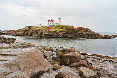 Nubble Lighthouse Poster by Jack Schultz