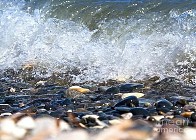 Ocean Stones Poster