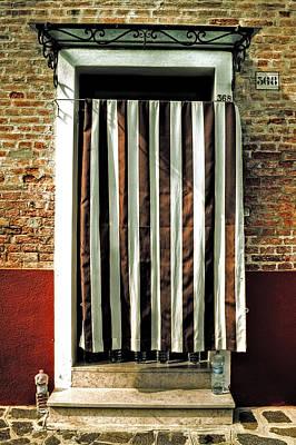 Old Italian Door Poster by Joana Kruse
