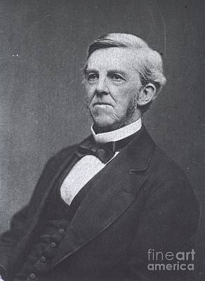 Oliver Wendell Holmes, American Poster by Science Source